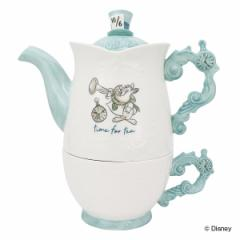 ティーフォーワン アリスインワンダーランド コーヒーカップ ティーポット 磁器 キャラクター ( ポット ティーカップ セット ふしぎの国