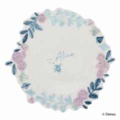 プレート 17cm アリスインワンダーランド 皿 食器 磁器 キャラクター ( 中皿 リム皿 アリス 白うさぎ ふしぎの国のアリス ディズニー ケ