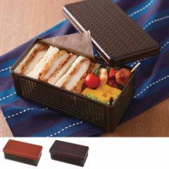弁当箱 1段 サンドイッチ ケース アジロ 折りたたみ ( サンドイッチケース お弁当箱 日本製 ランチボックス 網代 和柄 コンパクト