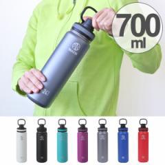 水筒 タケヤフラスク ステンレス 二重構造 保冷 直飲み 700ml ハンドル付き ( ステンレスボトル 直飲み水筒 ワンタッチ ダイレク