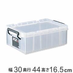 収納ボックス 幅30×奥行44×高さ16.5cm ロックス 440S クローゼット用 ( フタ付き 収納ケース ボックス ケース クローゼット収納 押入