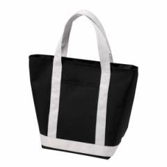 保冷トートバッグ ハイブラック 保冷バッグ チャック付 ( トートバッグ 保冷トート 買い物袋 クーラーバッグ 買い物バッグ )