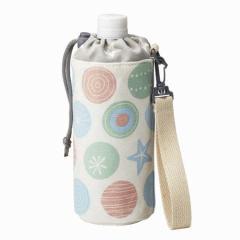 ペットボトルカバー 500ml用 シーカンバス 手提げタイプ ( ペットボトルケース 0.5L 手提げベルト付 ペットボトルホルダー ボトルカ