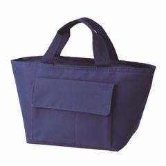 ランチバッグ バトゥ・ネイビー 保冷バッグ ファスナー付き ( 保冷ランチバッグ トートバッグ 弁当カバン お弁当バッグ お弁当袋 ラ