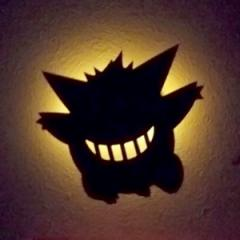 LEDライト ポケットモンスター ポケモン ウォールライト ゲンガー ( LED 照明 壁掛け 足元灯 フットライト 音感 センサー インテリ