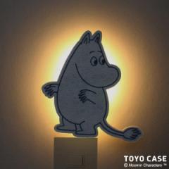 ウォールライト ムーミンシリーズ ムーミン ( LEDライト 照明 壁掛け フットライト 足元灯 ウォールランプ 壁面 電池式 おしゃれ 音感