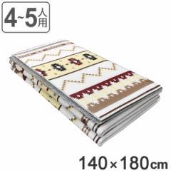 レジャーシート カジュアルレジャーマット トラッド柄 4〜5人用 140×180cm アウトドア ( レジャーマット レジャー ピクニック マット