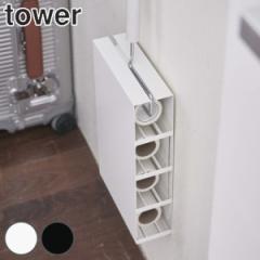マグネット カーペットクリーナー ホルダー tower タワー ケースのみ ( 粘着カーペットクリーナー 粘着シート 予備 スペア 収納 入れ 磁