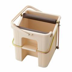 モップ絞り器 タフスクイザー モップ 床掃除 ( モップ 絞り 掃除 清掃 用品 スクイーザー 床掃除 水拭き 雑巾掛け バケツ 絞れる 脱水