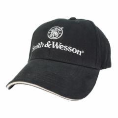 スミス&ウエッソン キャップ ロゴ 13SW001 ブラック[13sw001]