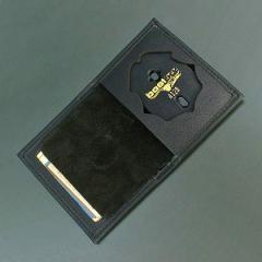 ボストンレザー ID&バッジホルダー 二つ折り財布100S4128[bos100s4128]
