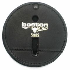 ボストンレザー バッジホルダー 丸型[bos5889-1]