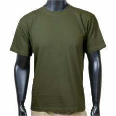J.S.D.F. 半袖Tシャツ コットン 無地 2800 [ オリーブドラブ / XLサイズ ][c28000101xl]