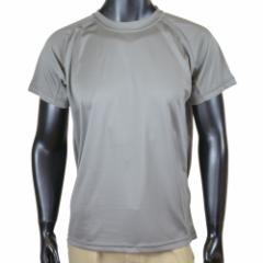 J.S.D.F. Tシャツ 無地 メンズ 6525 2枚組 [ グレー / Mサイズ ][c65250013M]