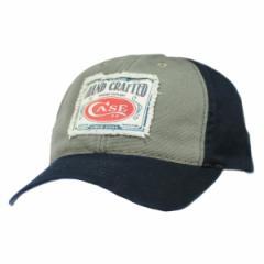 CASE 帽子 ベースボールキャップ パッチロゴ[ca50170]