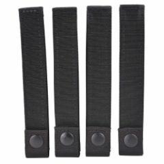 CONDOR モジュラーストラップ 4本セット [ ブラック / 6インチ ][cdo224002]