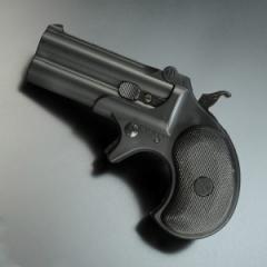 マルシン ガスガン デリンジャー 6mm [ ブラック ][ms048003]