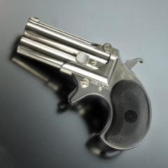 マルシン ガスガン デリンジャー 6mm [ シルバー ][ms048010]