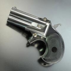 マルシン ガスガン デリンジャー 8mm [ シルバー ][ms048034]