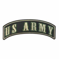 ミリタリーパッチ US ARMY ロッカー グリーン [ Sサイズ ][p2553]