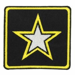 ミリタリーパッチ ARMY イエロー スター[p3838]