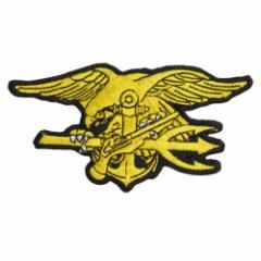 ミリタリーワッペン 米海軍特殊部隊 ネイビーシールズ Navy SEALs 熱圧着式[res27733]
