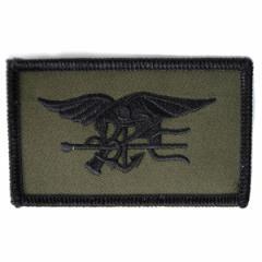 ミリタリーパッチ Navy SEALs OD[ro1683]