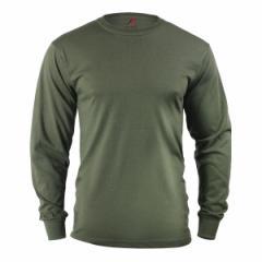 Rothco Tシャツ 長袖 オリーブドラブ 60118 [ Lサイズ ][ro60118l]