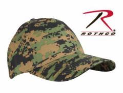 Rothco キャップ 8184 ウッドランドデジタルカモ[ro8184]
