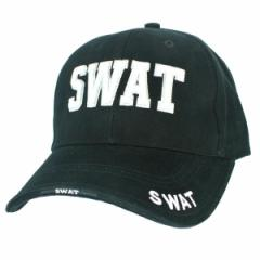 Rothco キャップ SWAT ブラック[ro9722]