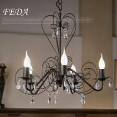 シャンデリア 5灯 FEDA 89852J エグロ EGLO 普通電球付き bim-b001-174-001 /北欧/インテリア/セール/モダン/送料無料/激安/ナチュラル