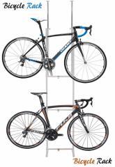 自転車ラック ツッパリ式 SB-01WH sei-sb-01 /北欧/インテリア/セール/モダン/送料無料/激安/ナチュラル  自転車/カバー/自転車/26インチ