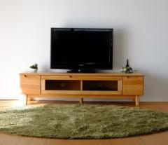 TVボード 幅150cm ナチュラル ERIS 150 TV NA ise-3317305s1 /北欧/インテリア/セール/モダン/送料無料/激安/ナチュラル  テレビ台/ハイ