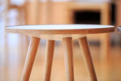 【保証付き】ショーン・ディックス SPUTNIK サイドテーブル B ウォールナット kaw-sd9345bwal  /デザイナーズ/家具/ジェネリック/リプロ
