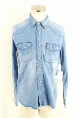ONES STROKE(ワンズストローク) フリンジカットオフウエスタンデニムシャツ サイズ[3] メンズ シャツ 【中古】【ブランド古着バズストア
