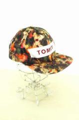 トミー TOMMY キャップ帽子 サイズ表記無 メンズ 【中古】【ブランド古着バズストア】