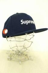 Supreme × NEW ERA (シュプリーム ニューエラ) キャップ帽子 サイズ71/2 メンズ 【中古】【ブランド古着バズストア】