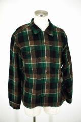 TENDERLOIN(テンダーロイン) 16AW T-WOOL SHT P ウールブロックチェックボタンシャツ サイズ[MEDIUM] メンズ シャツ 【中古】【ブランド