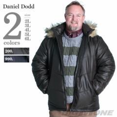 【大きいサイズ】【メンズ】DANIEL DODD シレーフーデッド中綿ブルゾン azb-1324