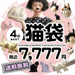 【特別送料無料!】福袋 セット 数量限定 ねこ 猫 キャット アニマル 動物 ピアス アクセサリー /にゃんにゃんにゃんネコづくし4点セット