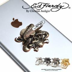 エドハーディー スマホリング スマホスタンド バンカーリング  iPhone  スマホホルダー タブレット ed hardy trend_d