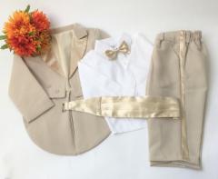 男の子 ベビー タキシード 燕尾服 フォーマル スーツ 結婚式 ベビースーツ 70 80 90 517121