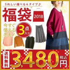 2018 福袋 【豪華3点入り】 レディース 選べる4タイプ まとめ売り (fuku-046)