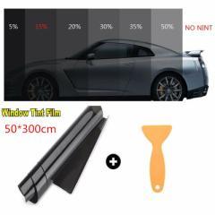 50センチ* 3メートル15%VLTブラックプロカーホームガラス窓の色合い着色フィルムロール