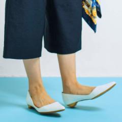 ヴェリココ ラクチンきれいシューズ/【19.5〜27cm】]ポインテッドトゥパンプス(2cmヒール)
