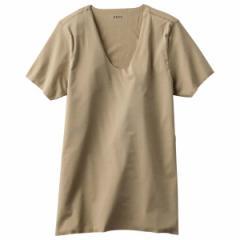 シーク(SEEK)/【SEEK】UネックTシャツ(シームレス/消臭)