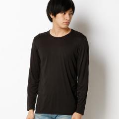 エドウィン(メンズ)(EDWIN)/【暖かいWILDFIRE】クルーネック長袖Tシャツ