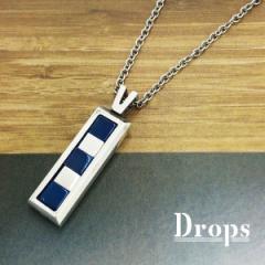 ドロップス(Drops)/シルバー925 5キューブネックレス