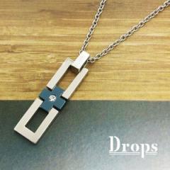ドロップス(Drops)/シルバー925 センタープラスLネックレス