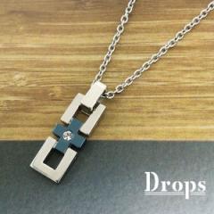 ドロップス(Drops)/シルバー925 センタープラスSネックレス